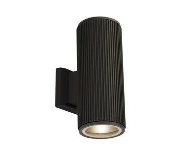 Searchlight Wandlamp Wallporch 2 - Zwart