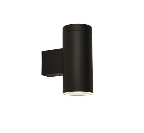 Searchlight Wandlamp Dustilda Sensor 2A - Zwart