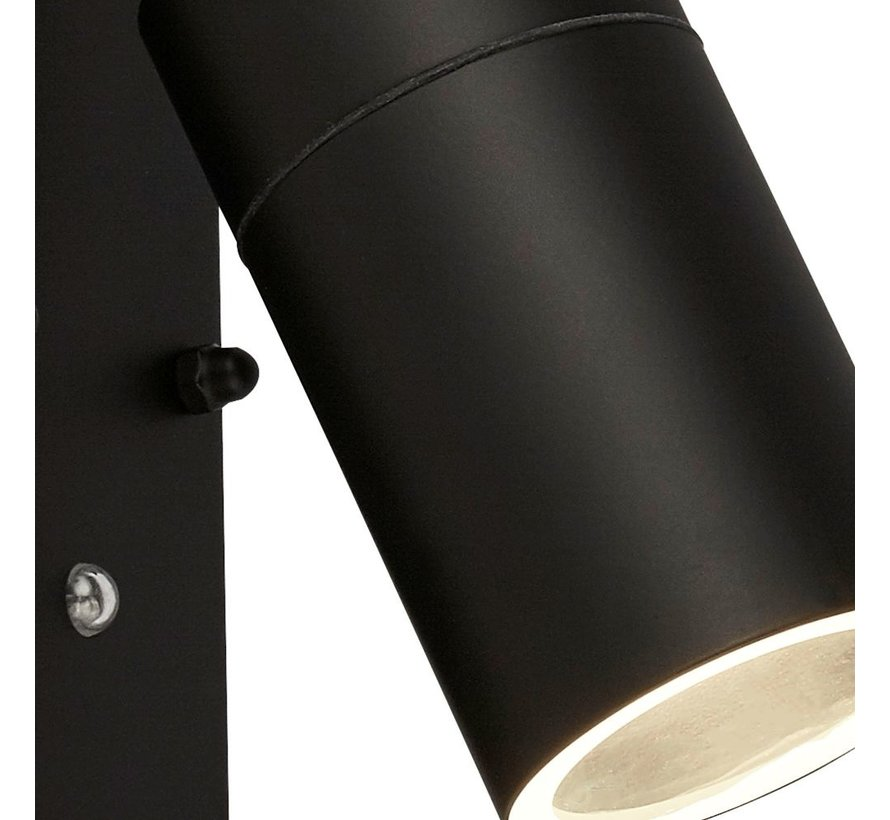 Wandlamp Dustilda Sensor 1B - Zwart