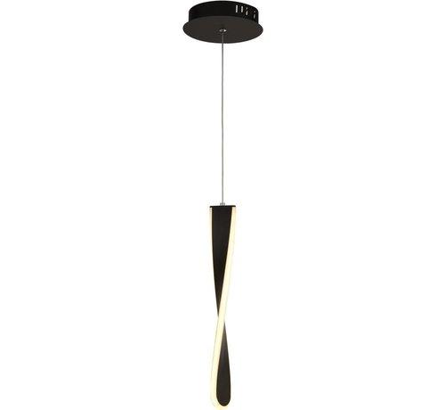 Searchlight Hanglamp Paddle - Zwart