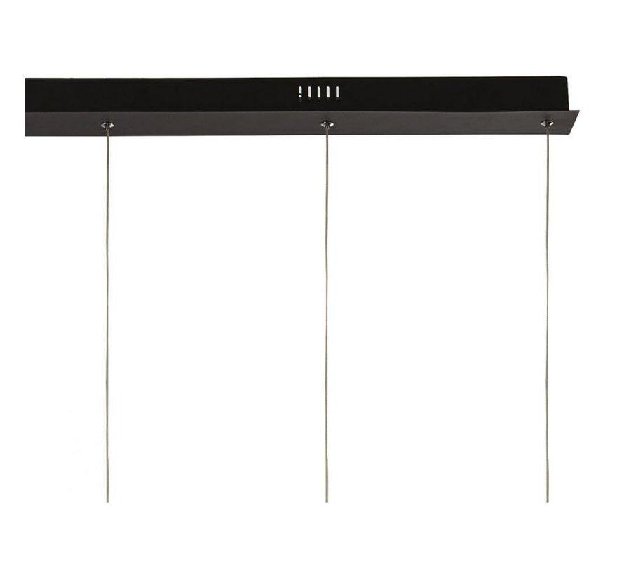 Hanglamp Paddle 5L - Zwart