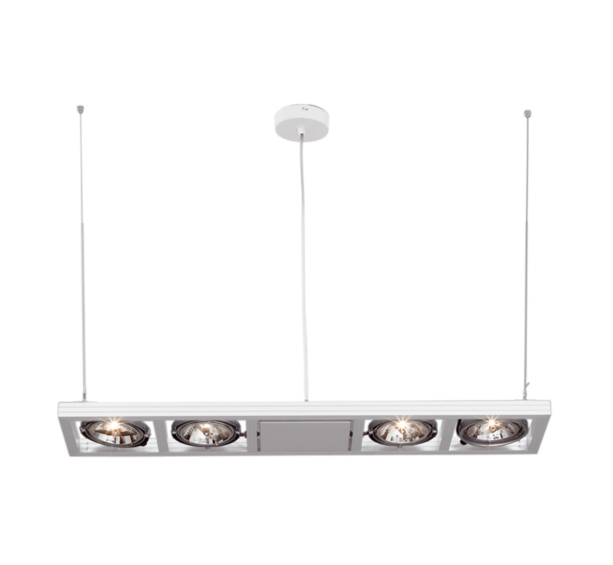Hanglamp Indus  4L - Wit