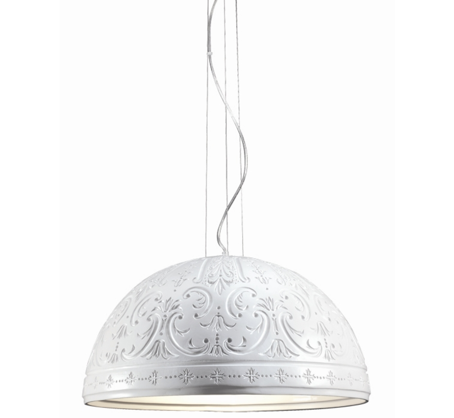Hanglamp Barok - Wit