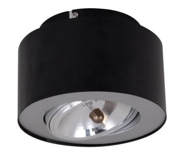 Artdelight Plafondlamp Rondo - Zwart