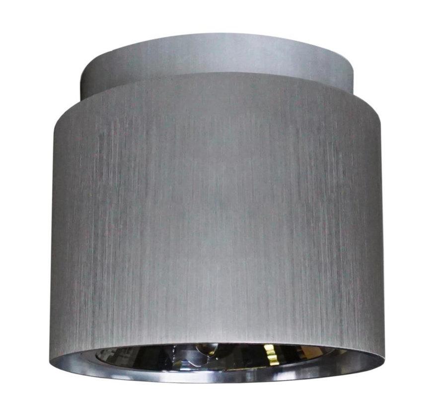 Plafondlamp Rondo 2 - Mat Staal