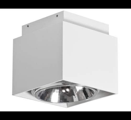 Artdelight Plafondlamp Square - Wit