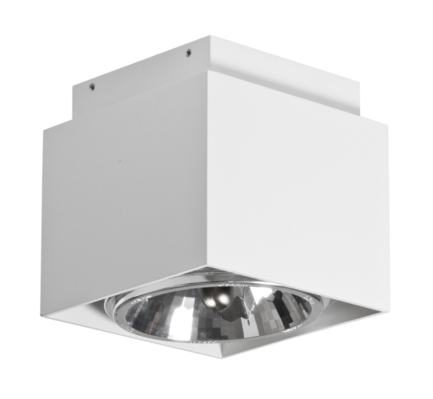 Plafondlamp Square - Wit