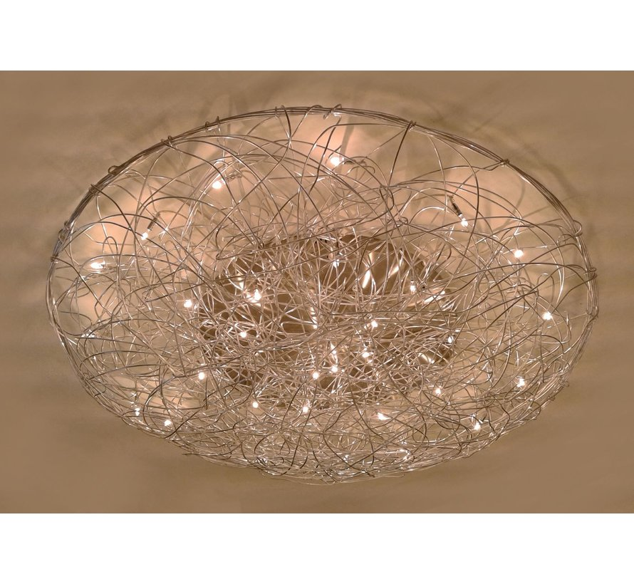 Plafondlamp Draga - Mat Staal