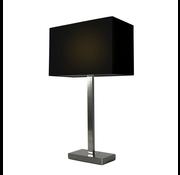 Artdelight Tafellamp Donn - Zwart