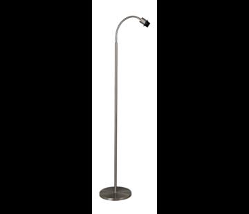 Artdelight Vloerlamp Flexi 1L - Mat Staal