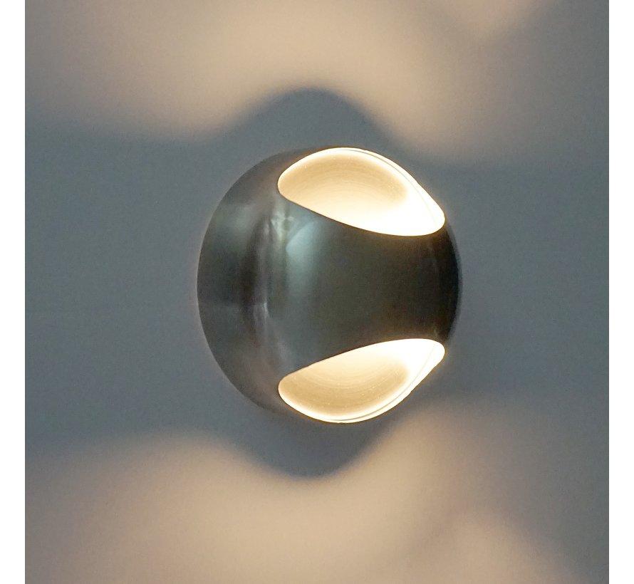 Wandlamp Shadow - Mat Staal