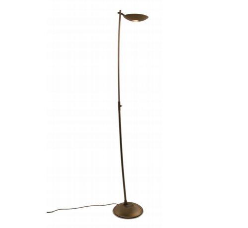 Artdelight Vloerlamp Boche - Brons