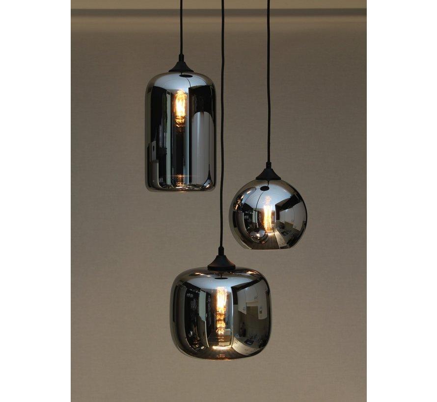 Hanglamp Glass Inverness - Metallic Smoke