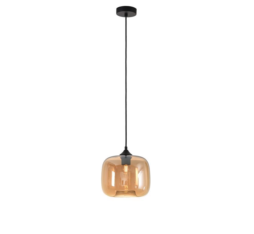 Hanglamp Preston 24cm - Amber