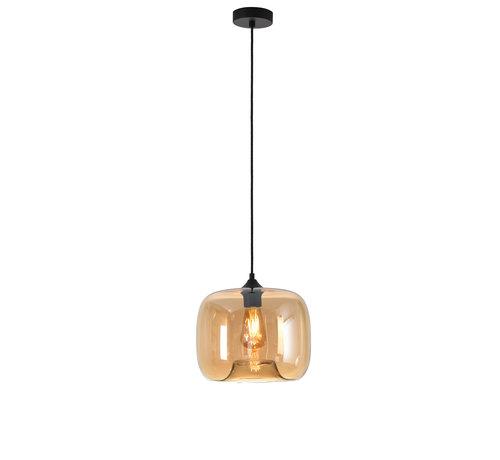 Artdelight Hanglamp Preston 28cm - Amber