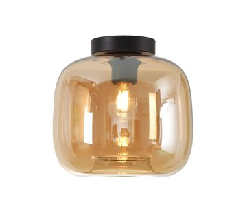Artdelight Plafondlamp Preston 24cm - Amber