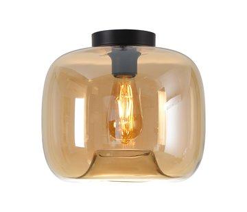 Artdelight Plafondlamp Preston 28cm - Amber