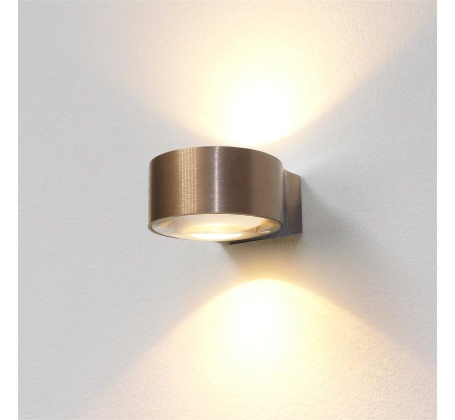 Wandlamp Hudson - Brons