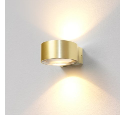 Artdelight Wandlamp Hudson - Goud