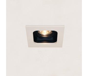 Artdelight Inbouwspot Moggio 1L - Wit/Zwart