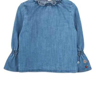Ammehoela Ammehoela Denim Blouse
