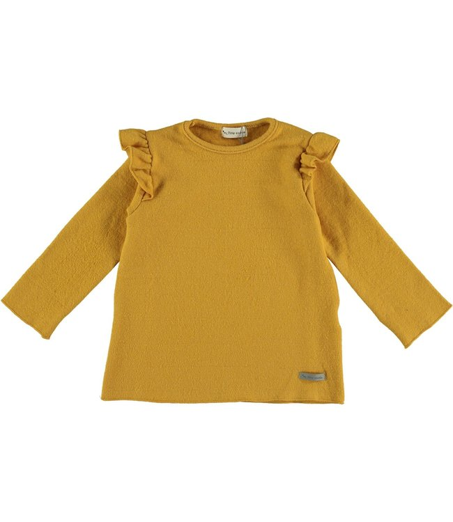 My Little Cozmo Sweater Mustard Charlotte Mini