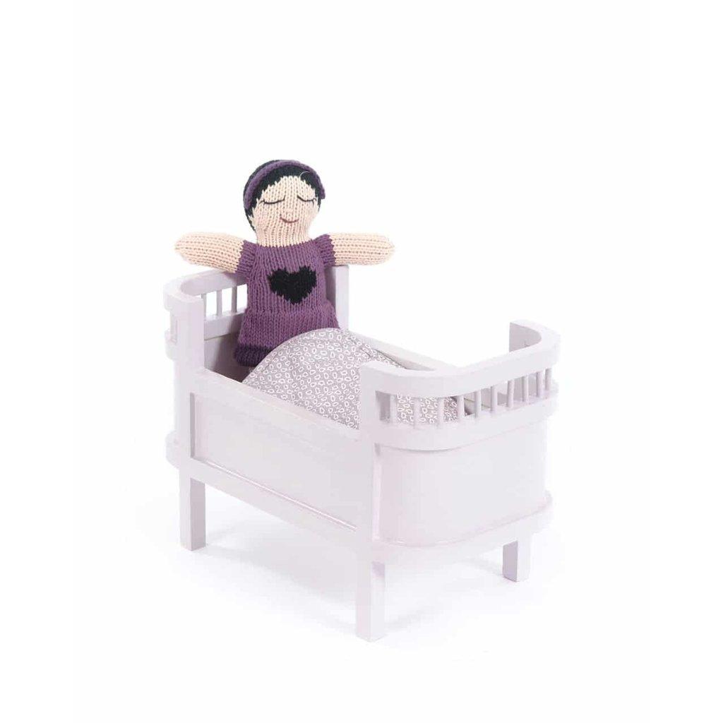 Smallstuff Rosaline Doll Bed mini