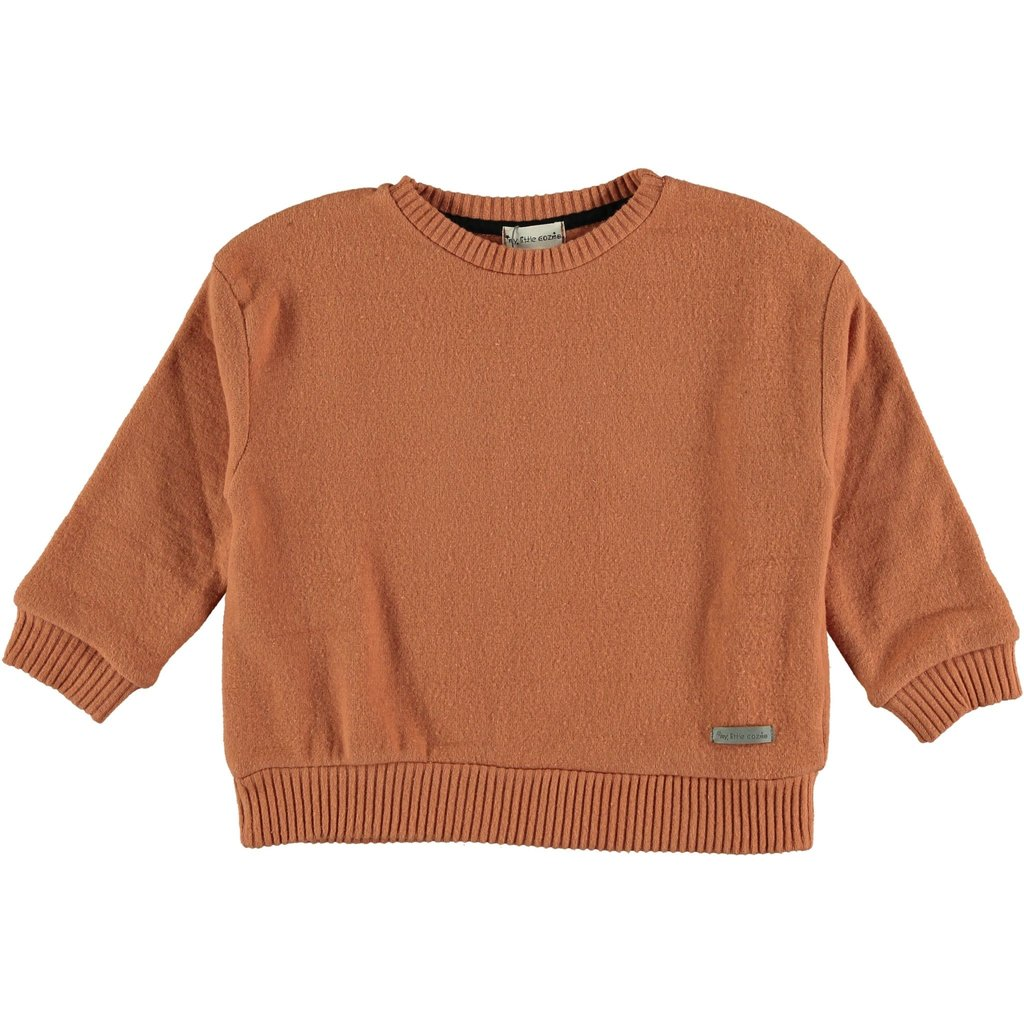 My Little Cozmo Sweater premium knit Rust DUNDEEK
