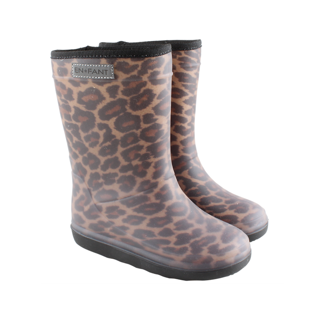En Fant Thermoboots Leopard Bruin