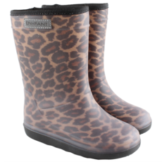 Thermoboots Leopard Bruin