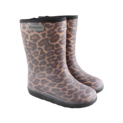 En Fant Thermoboots Leopard Bruin