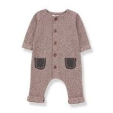 1+ in the family Jumpsuit Montblanc rose/terrau