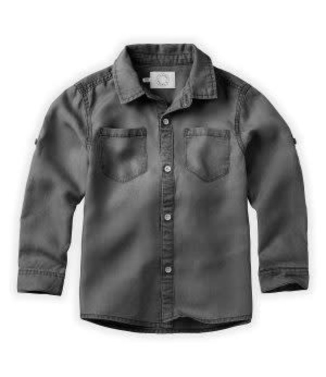 Denim Shirt Grey