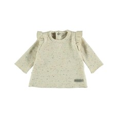 My Little Cozmo Sweater Ivory Charlotte