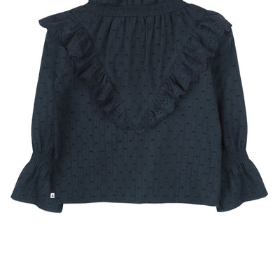 Ammehoela Blouse Mia Deep Blue