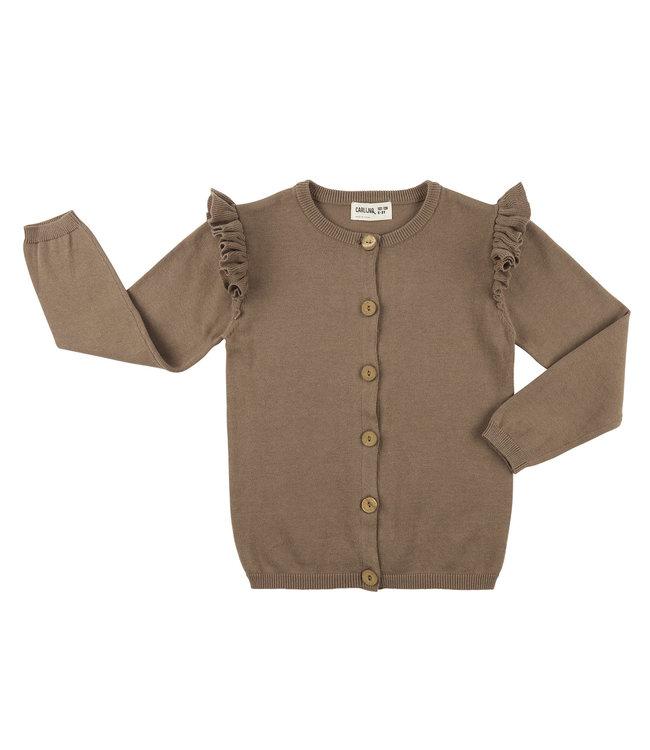 Carlijn Q Basic Knit Cardigan Grey