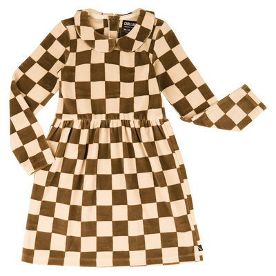 Carlijn Q Jurk Checkers