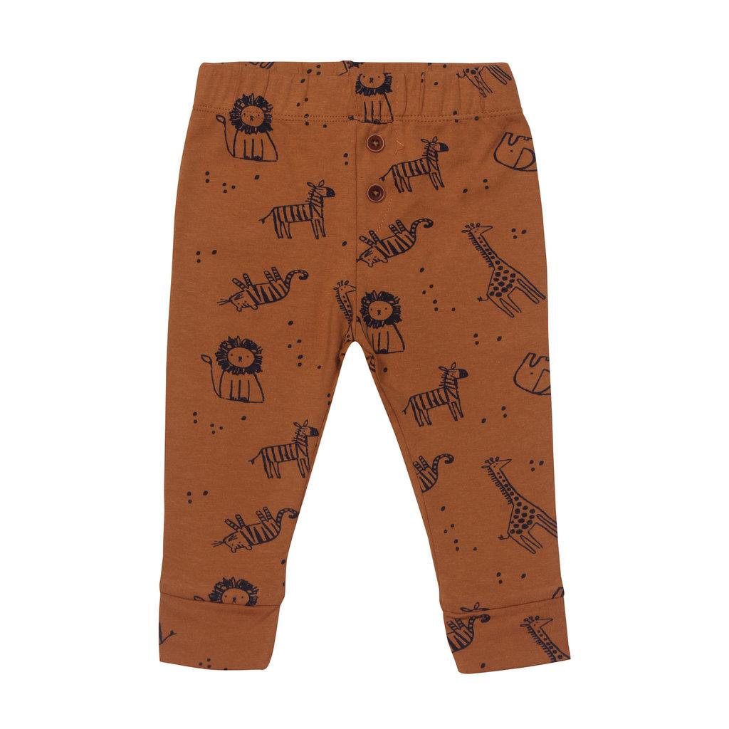 Kids Up Broekje Camel dierenprintje