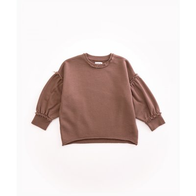 Play Up Jersey Sweater Purplewood