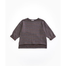 Play Up Jersey Sweater Striped Purplewood