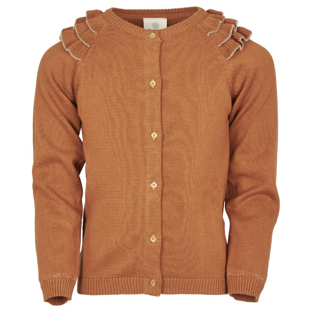 En Fant Vestje Leather Brown