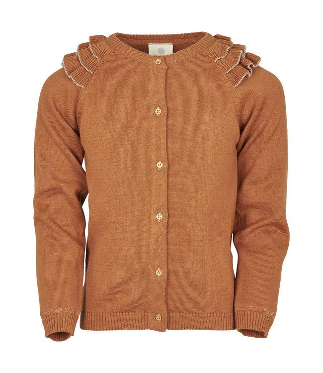 Vestje Leather Brown