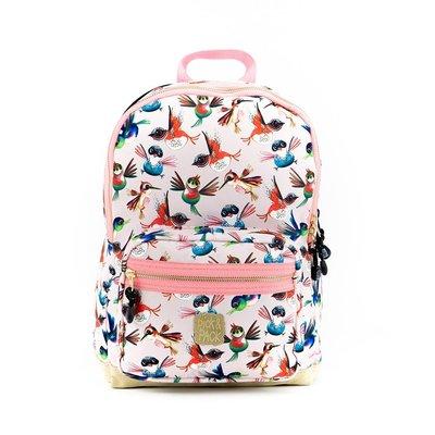 Pick n Pack Rugzak Birds M Soft Pink