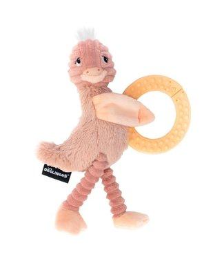 Les Deglingos kauwspeeltje struisvogel