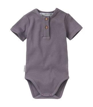 Mingo Romper Rib Body Lavendel
