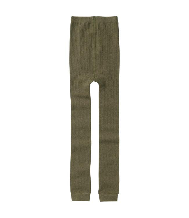 Mingo Sockless Tights Sage Green