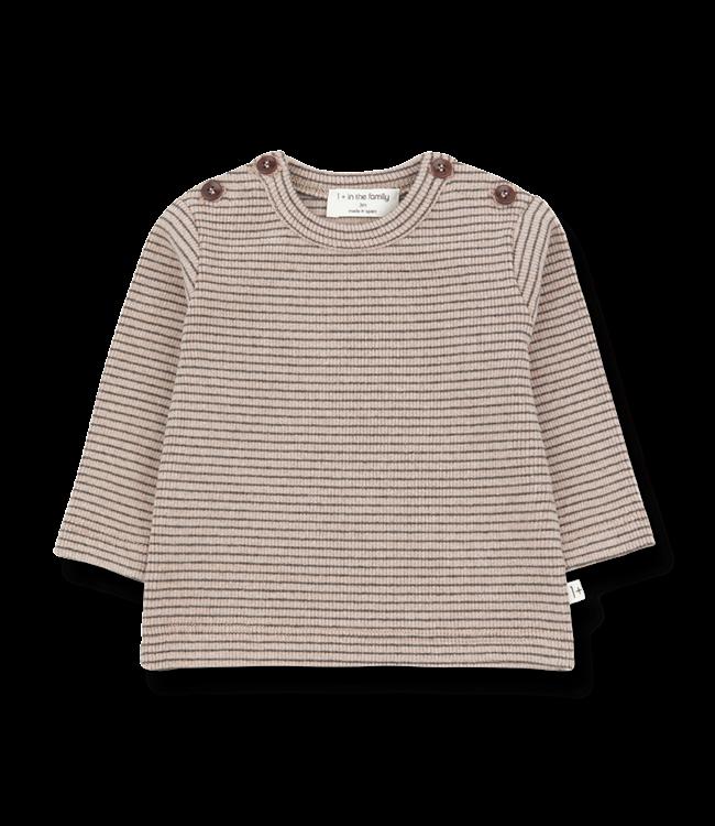 1+ in the family T-Shirt Jasper Rose/Terrau