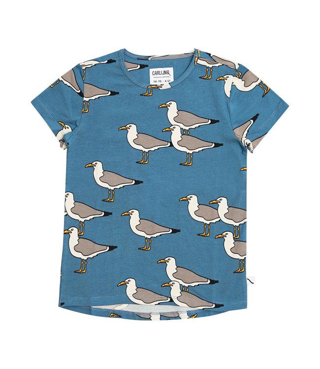 Carlijn Q Short Sleeve tshirt Seagull