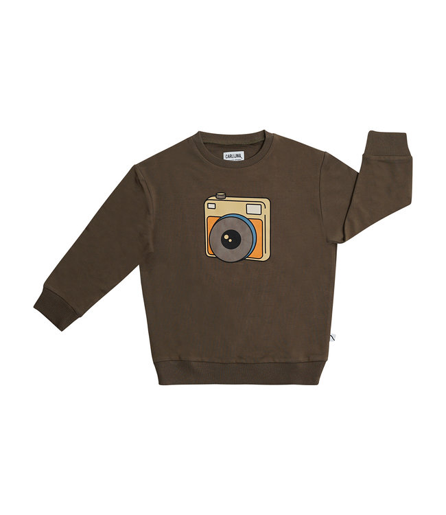 Carlijn Q Sweater Bruin Photo  camera