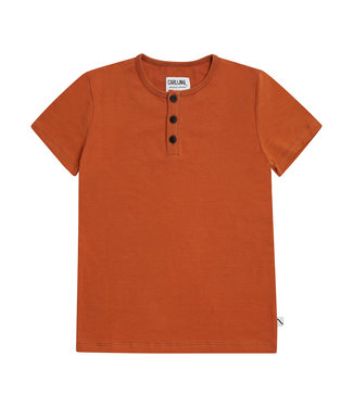 Carlijn Q Tshirt basic Henley Short sleeves
